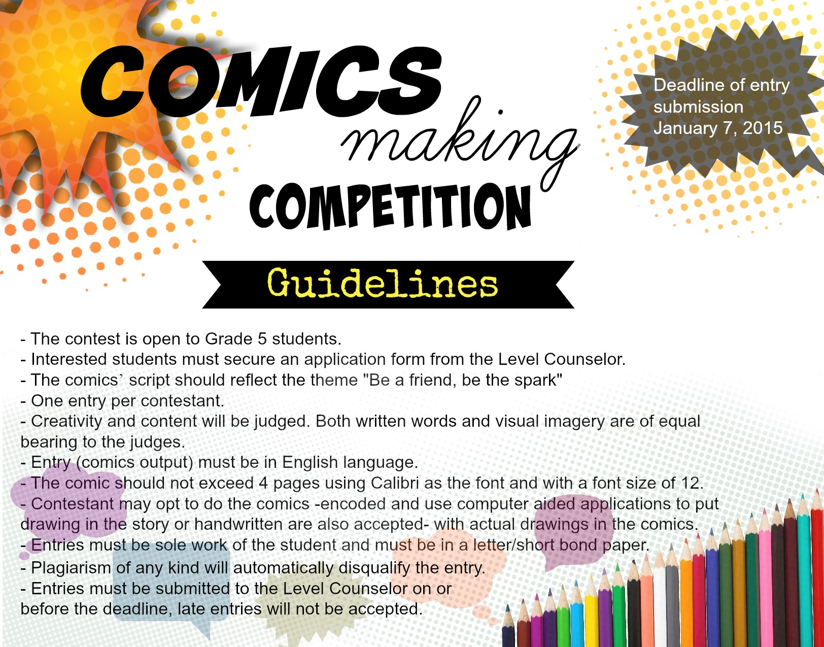 SAFE comics making competition guideline (1)